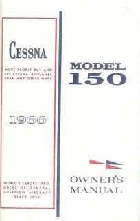 Manual, Cessna - 150F - 1966 - Owner's Manual