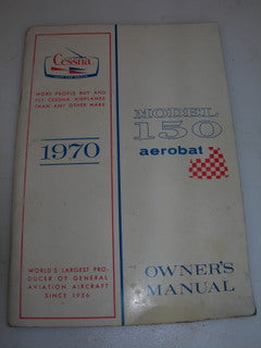Manual, Cessna - 150 - 1970 - Aerobat - Owner's Manual