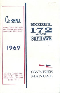 Manual, Cessna - Skyhawk 172 - 1969 - Owner's Manual