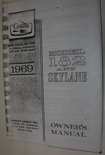 Manual, Cessna - Skylane 182 - 1969 - Owner's Manual