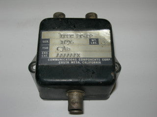 Coupler, Antenna - Diplexer - Two Navs to Antenna - Communications Component