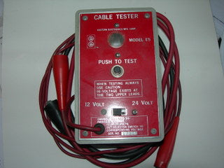 Tester, High Voltage Cable - Eastern Technologies