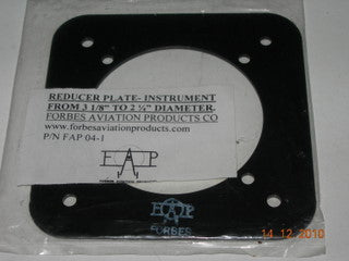 Plate, Instrument  Reducer - 3 1/8