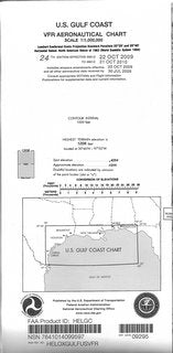 U.S. Gulf Coast Area - Helicopter Route Chart