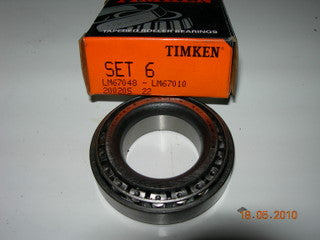 Bearing, Wheel Cone Assembly - Timken