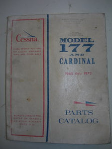 Manual, Cessna - Cardinal 177 - 1968 thru 1972 - Parts