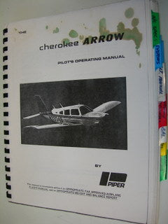 Manual, Piper - Arrow PA28R200 - Pilot's Operating