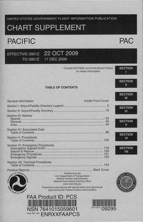 Pacific Chart Supplement Directory