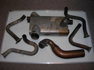 Exhaust, Cessna 172 - Power Flow - Short Stack