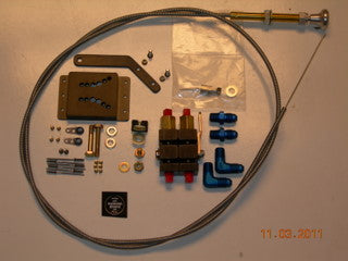 AirWard's Van's RV-10 Parking Brake Kit - with Valve and Cable