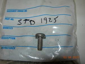 "Screw, Pan Head - Slot - 1/4-20 - 5/8"" OL - with External Star Washer - Rocker Cover"