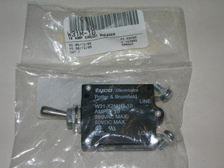 Breaker, Circuit - Switch - 10 Amp