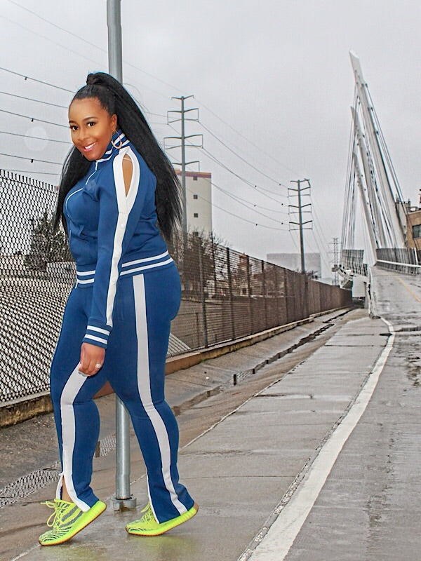 The Blue Tracksuit