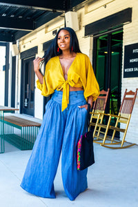 Super Fly Wide Leg Jeans