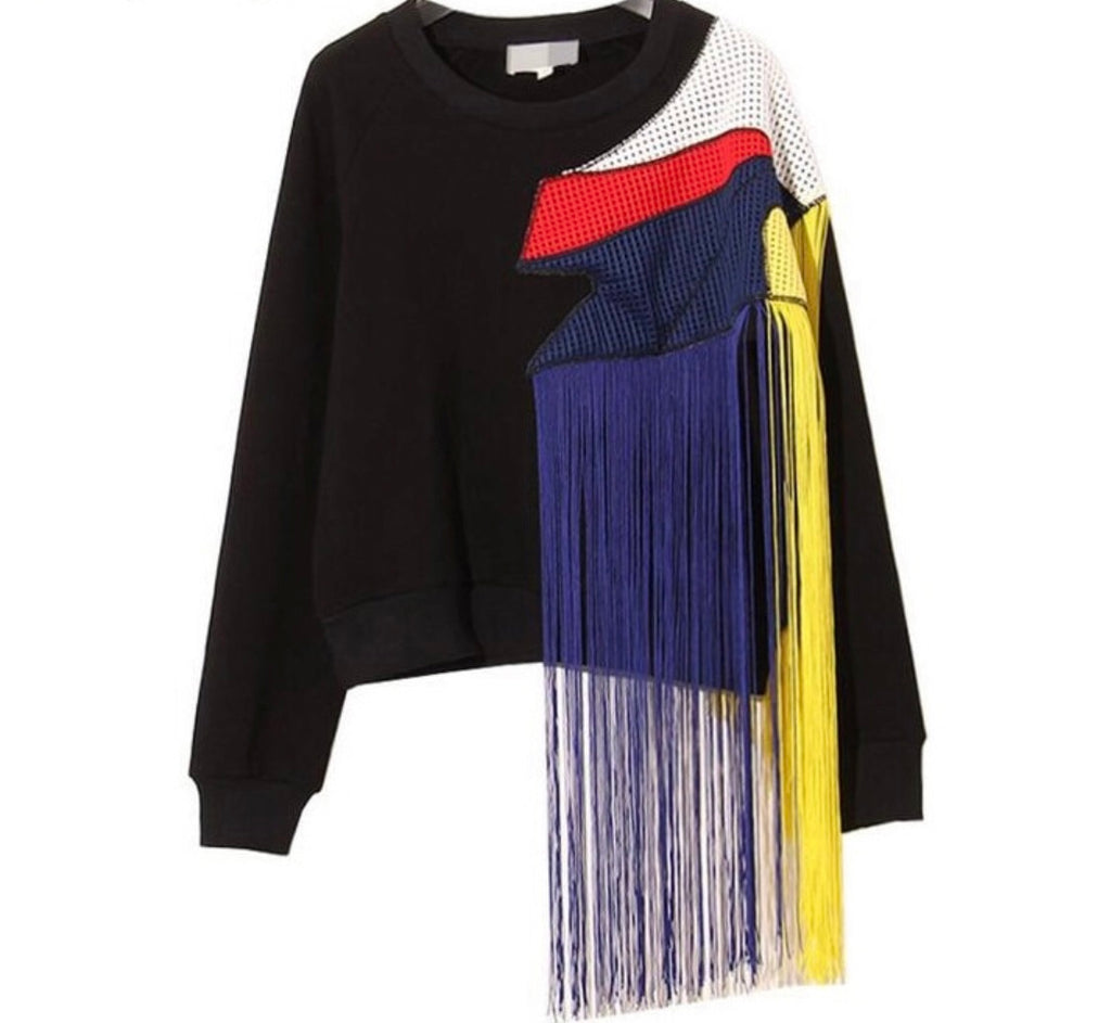 Fringe Me Out Sweatshirt
