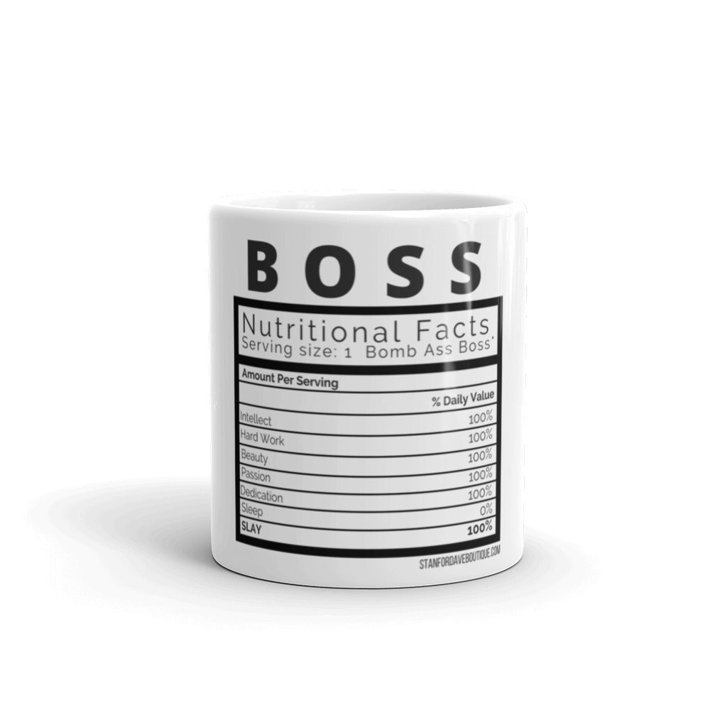 What it takes to make a BOSS Coffee Mug