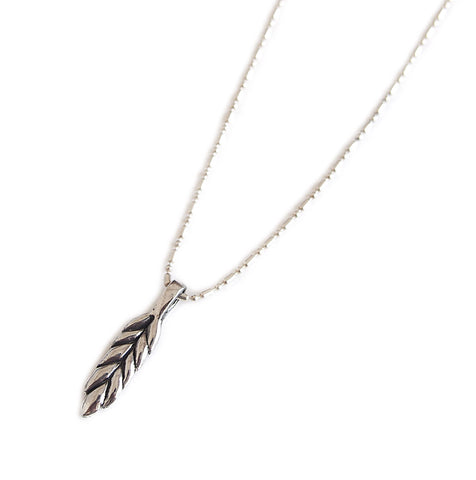 WHEAT NATIVE TQS NECKLACE
