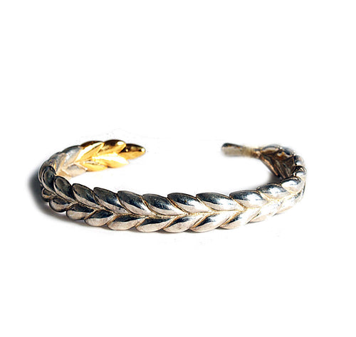 WHEAT  GOLD COAT BANGLE
