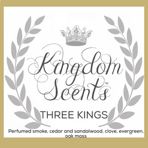 Three Kings, Luxury Soy Candle, 11 oz