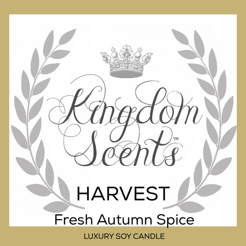 Harvest, Luxury Soy Candle, 9 oz