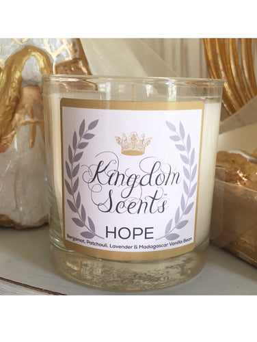 Hope, Luxury Soy Candle, 11 oz