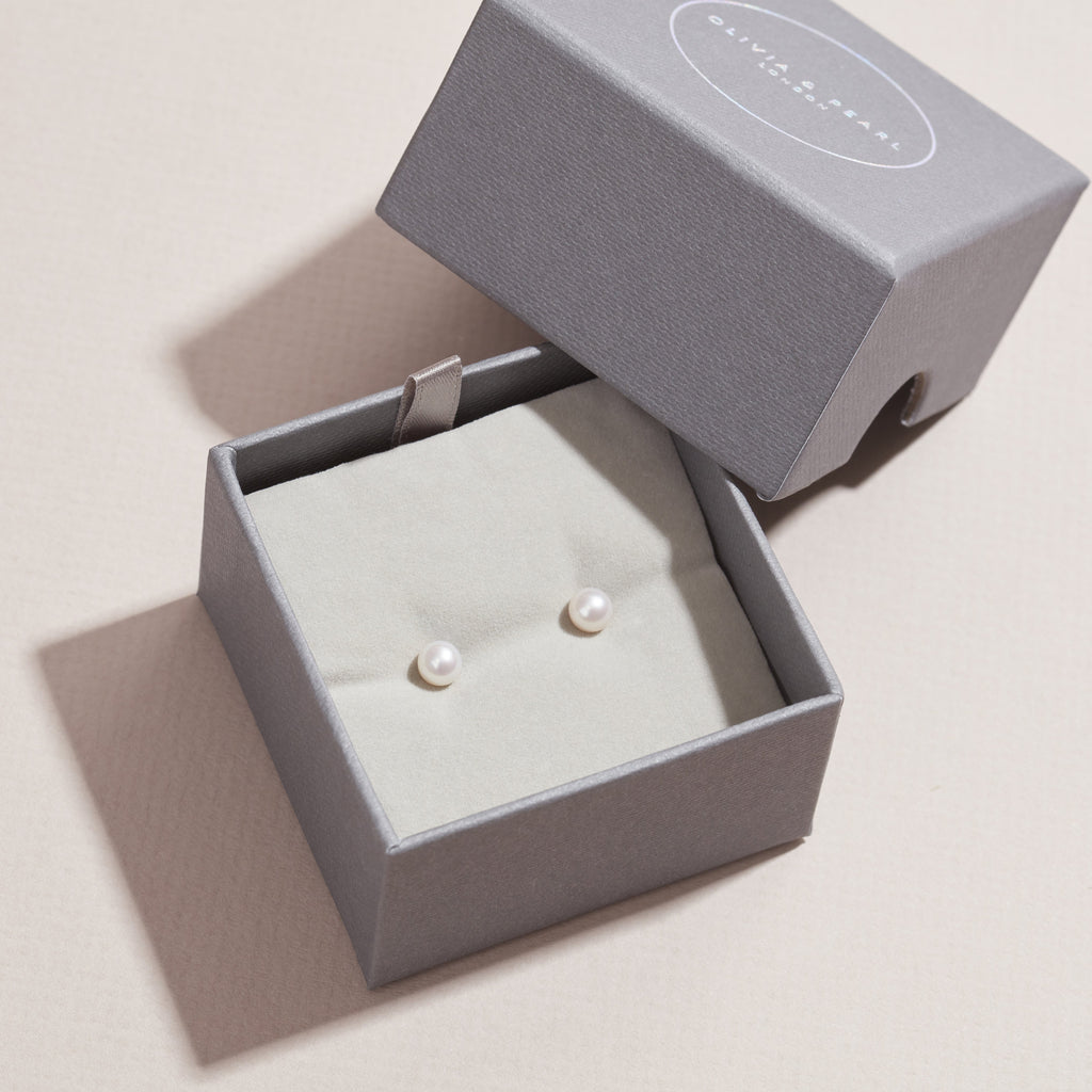 Free Gift With Purchase Freshwater Pearl Stud Earring