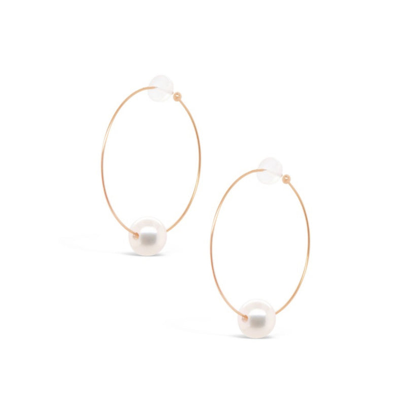 Oh So Fine Hoop Earring 18ct