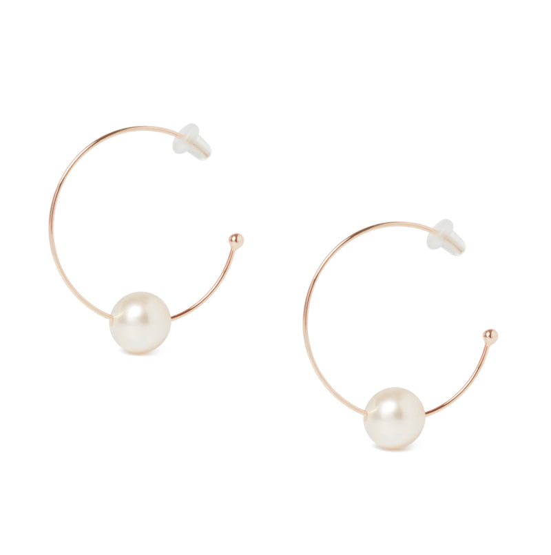 Oh So Fine Mini Hoop Earring Vermeil