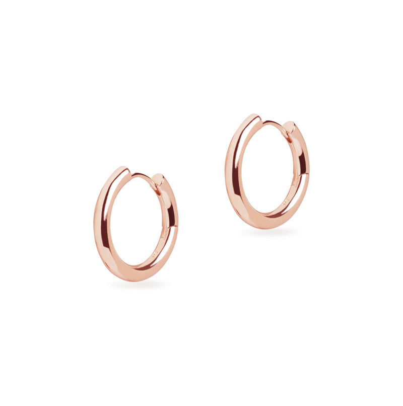 Midi Chunky Hoop Earrings