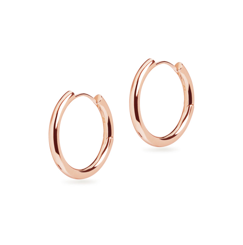Large Chunky Hoop Earrings