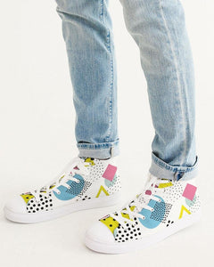 Morati Dots Men's High Top Sneaker , Men's Streetwear Shoes, - Morati Streetwear Hypebeast Urban Fashion Online Shop.