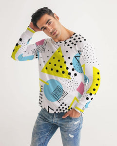 Morati Dots Men's Long Sleeve Tee , Men's Long Sleeve Tee, - Morati Streetwear Hypebeast Urban Fashion Online Shop.