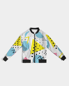 Morati Dots Women's Bomber Jacket , All Over Print Bomber Jacket for Women (H21), - Morati Streetwear Hypebeast Urban Fashion Online Shop.