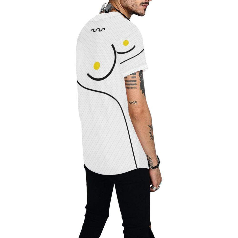 All Over Print Baseball Jersey for Men (T50), Morati World, Morati 6 Baseball Jerseys - Morati