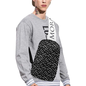 Morati Black Z Chest Bag , Chest Bag (1678), - Morati Streetwear Hypebeast Urban Fashion Online Shop.