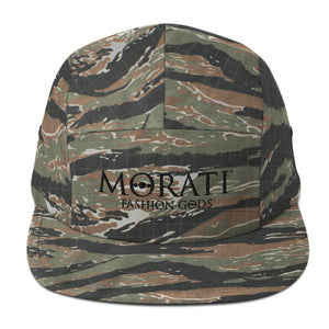 MORATI HATS, Morati World, Morati Five Panel Cap - Morati