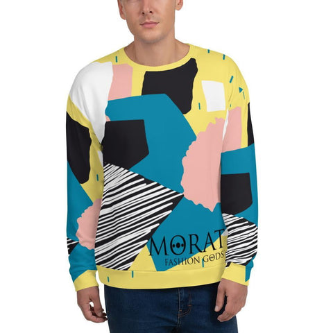 Men's Sweatshirts - Fashion Gods Abstract Sweatshirt