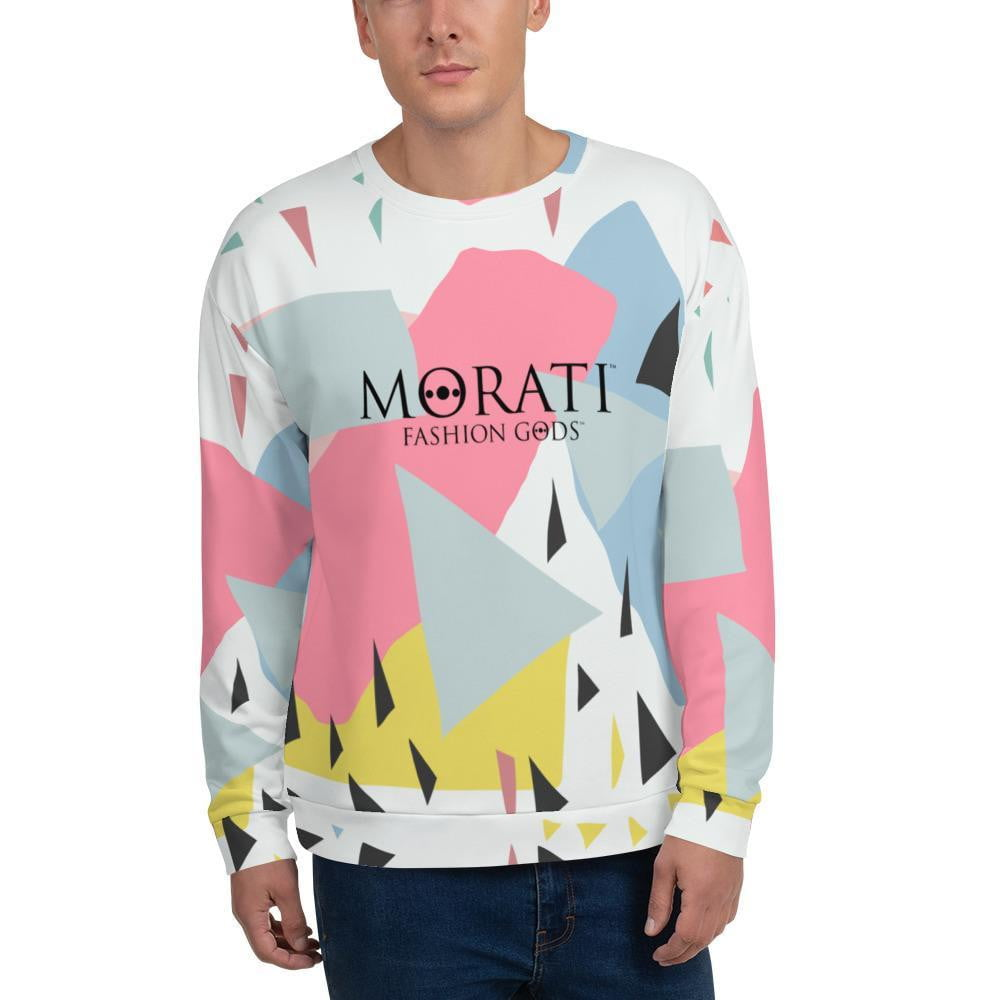 Men's Sweatshirts, Morati World, Fashion Gods Abstract Sweatshirt - Morati