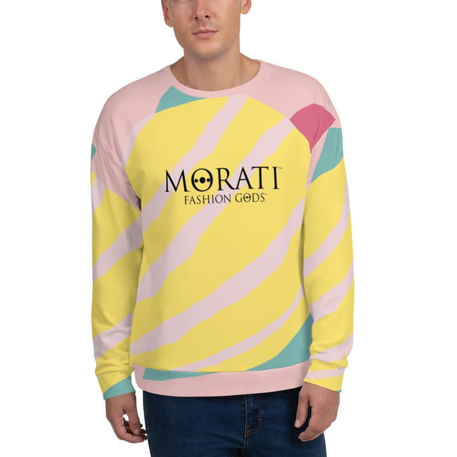Sunrise Graphic Sweatshirt - Morati - Men's Sweatshirts
