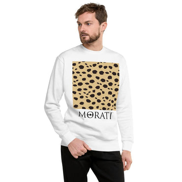 Men's Sweatshirts - Morati Cheetah Fleece Pullover