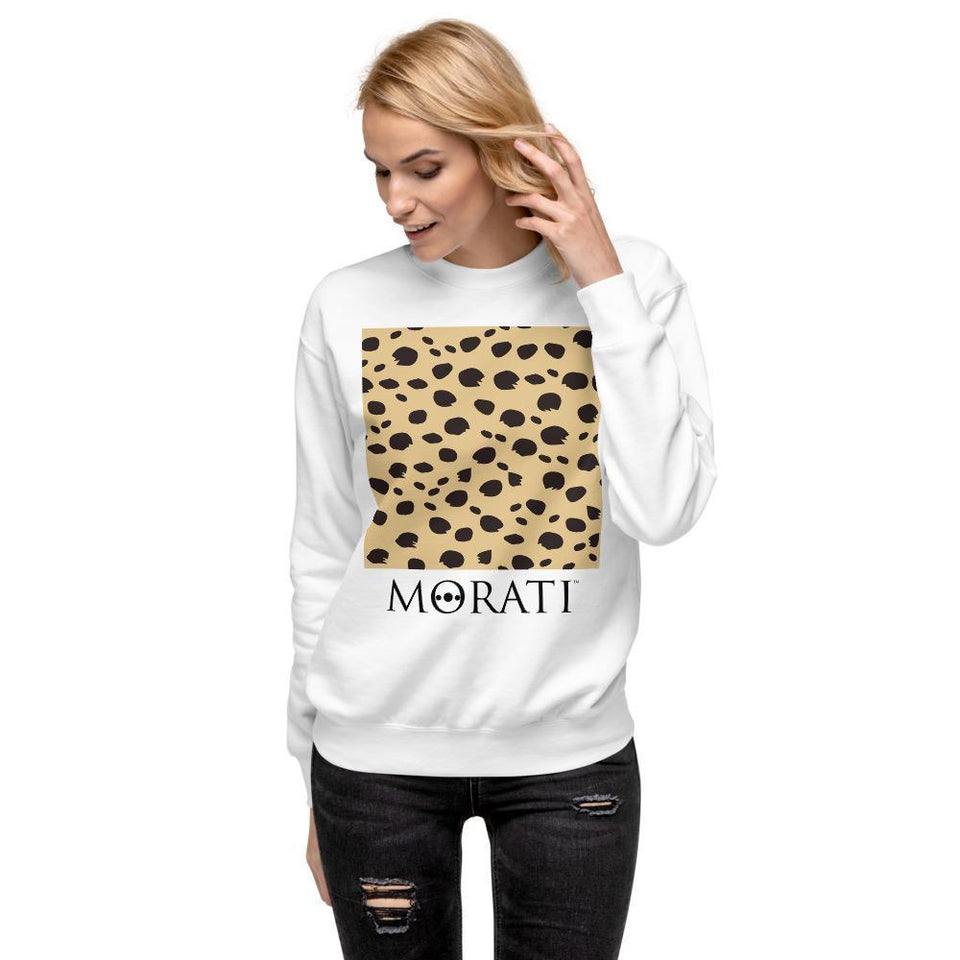 Morati Cheetah Fleece Pullover , Men's Sweatshirts, - Morati Streetwear Hypebeast Urban Fashion Online Shop.