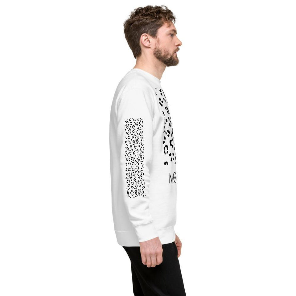 Men's Sweatshirts, Morati World, Morati Cheetah Fleece Pullover - Morati