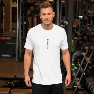 Men's T-shirt, Morati World, Morati Logo Short-Sleeve Unisex T-Shirt - Morati