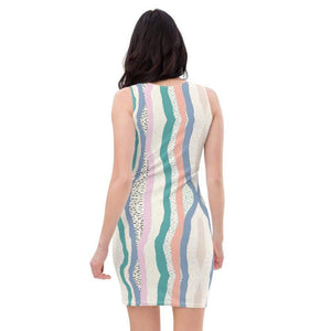 All-Over Print Dress, Morati World, Bella Dress - Morati