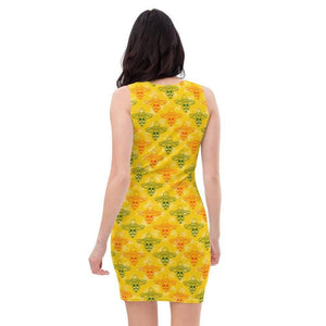 All-Over Print Dress, Morati World, Daisy Coco - Morati