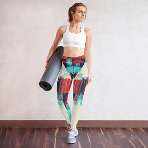 Yoga Leggings, Morati World, Morati Avant Garde Yoga Leggings - Morati