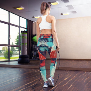 Morati Avant Garde Yoga Leggings - Morati - Yoga Leggings