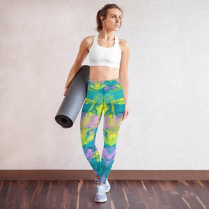 Morati Chakra Aventurine Yoga Leggings - Morati World - Yoga Leggings