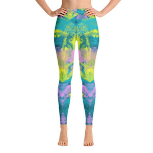 Yoga Leggings, Morati World, Morati Chakra Aventurine Yoga Leggings - Morati