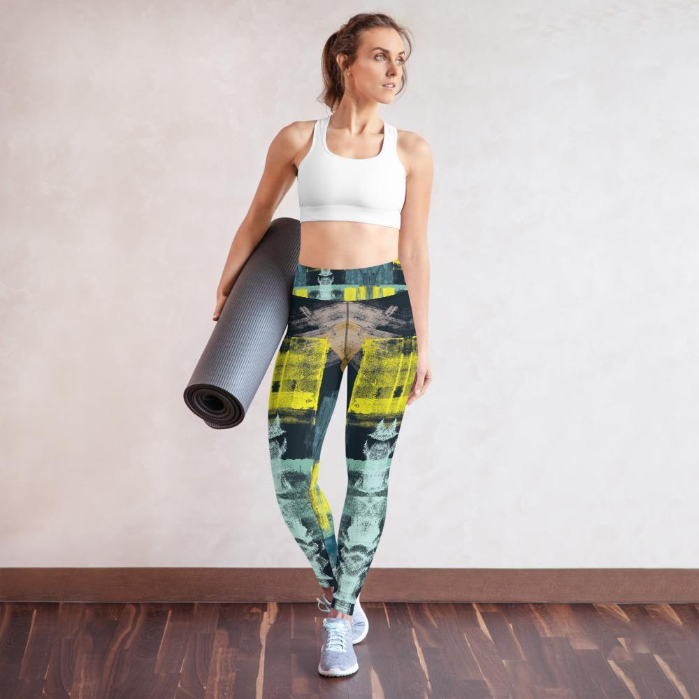 Morati Chakra Jasper Yoga Leggings , Yoga Leggings, - Morati Streetwear Hypebeast Urban Fashion Online Shop.